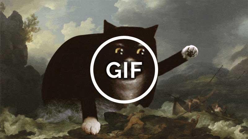 Ship wreck animated GIF