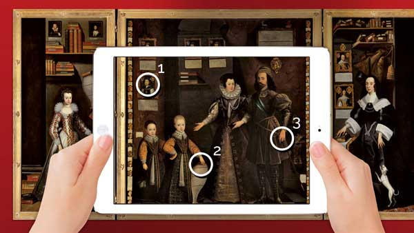 Annotate details of paintings with Augmented Reality